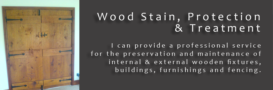 Wood Stain & Preservation